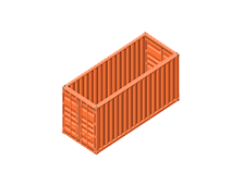 20 Foot Open Top Shipping Container - We want to know more about your business as we know that, in order to provide sea freight solutions, our in-depth understanding of the logistics industry isn't enough...