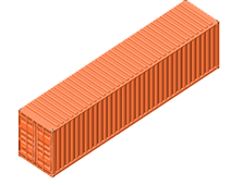 40 Foot General Purpose Shipping Container - We offer LCL (Less than Container Load) and FCL (Full Container Load) for imports and exports, LCL – FCL: various shipments consolidated then shipped and delivered as FCL, and FCL – LCL: cargo loaded at the customer's location and released from customs for collection or delivery to multiple consignees at the destination
