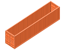40 Foot Open Top Shipping Container - Despite volatile market conditions in container freight forwarding, MTF Logistics' offers you a dependable service