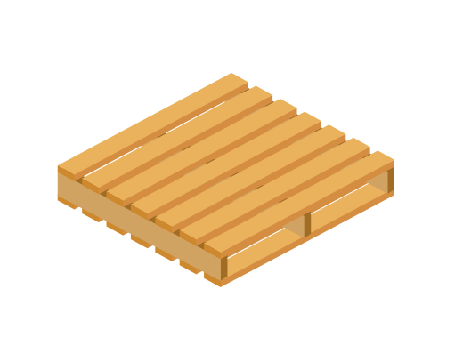 Australian Stardard Pallet has limited frieght potential when shipping via sea, however they make for perfect racking pallets.