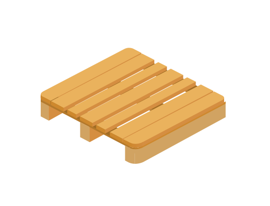 Most common standard pallet with the highest quality hardwood materials. More than freight employ the very best when it comes to freight tools and pallets.