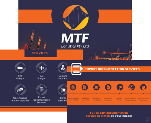 Read the presentation for MTF Logistics Sydney Australia. MTF is a world class logistics company with the expertise to do more than freight. Contact the MTF shipping team today to see how we can help you!